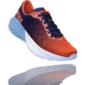 Hoka One One Mach 2 Running Shoes Herren patriot blue/nasturtium